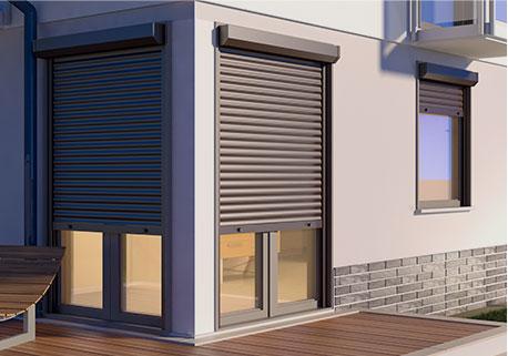 Door and window roller shutter
