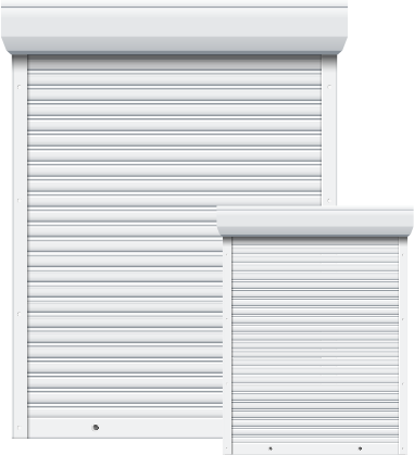 Electric roller shutter image