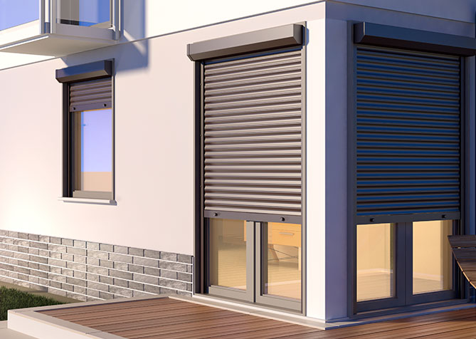 Electric door and window shutters