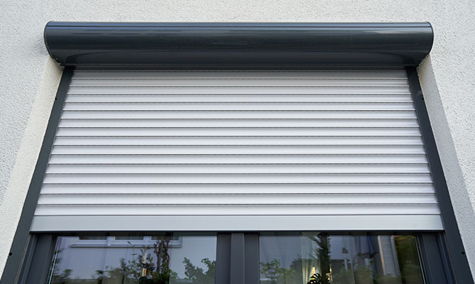 Round Electric Roller shutters